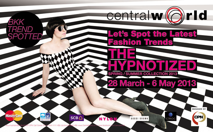 "BKK Trend Spotted ""THE HYPNOTIZED"" Spring Summer Collection2013"